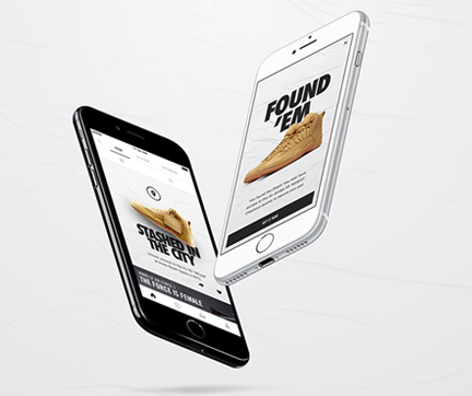 Nike SNKRS – Augmented reality app – The One Centre