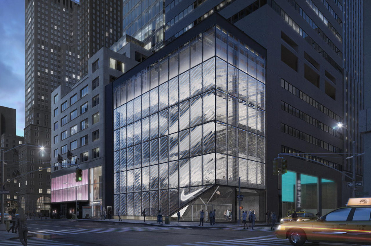 61b2411b90 Nike has just opened flagship stores in New York and Shanghai